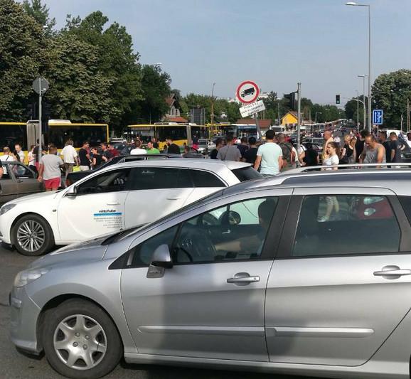 Blokada i na Novom Beogradu