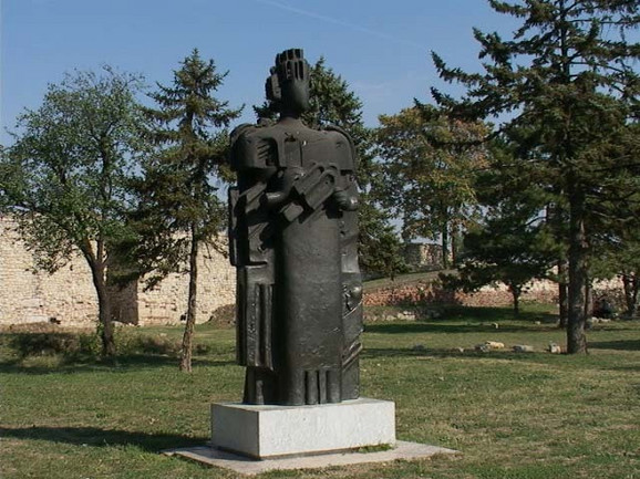 Spomenik despotu na Kalemegdanu