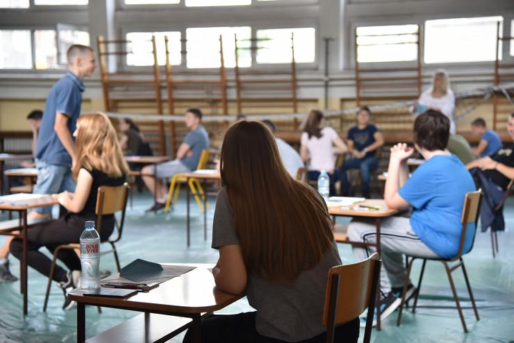 beograd, mala matura, matematika, učenici, đaci, test