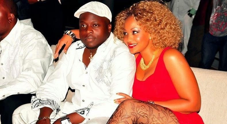 Ivan Ssemwanga and Zari Hassan