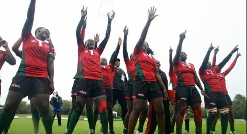 Kenyan Lionesses Team
