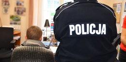 Nożownik w rękach policji!