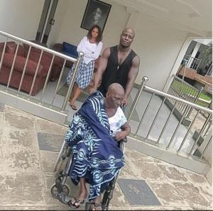 Stephen Appiah's mum passed away aged 73