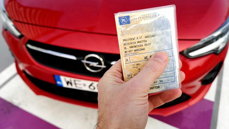 Dowód rejestracyjny samochodu