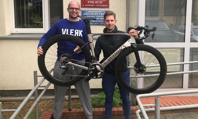 Odzyskał rower wart fortunę