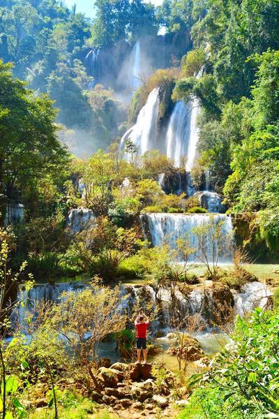 Najpiękniejszy wodospad Tajlandii