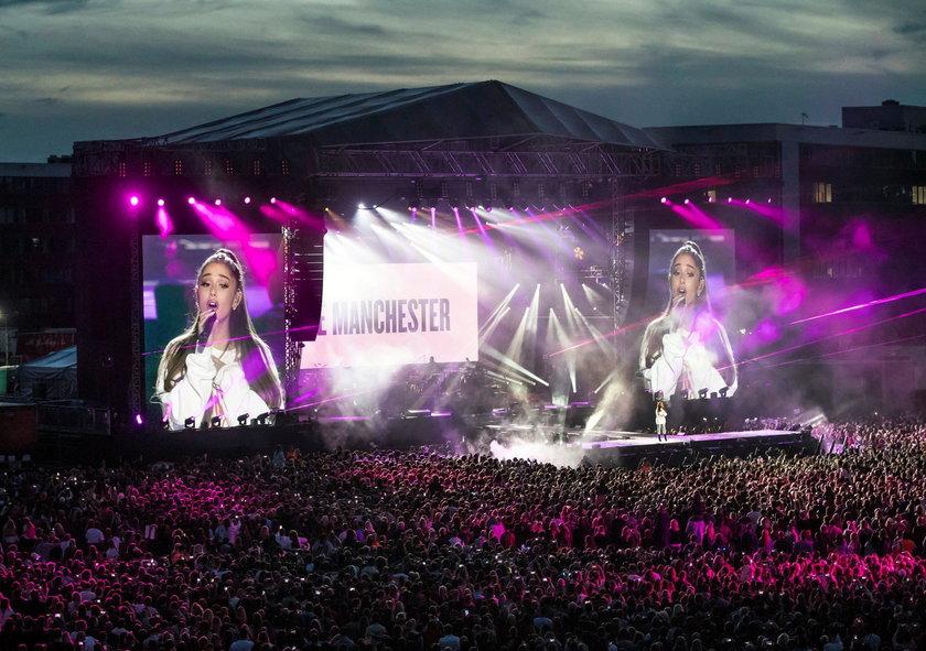 Koncert w Manchesterze