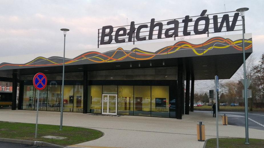 Dworzec autobusowy w Bełchatowie