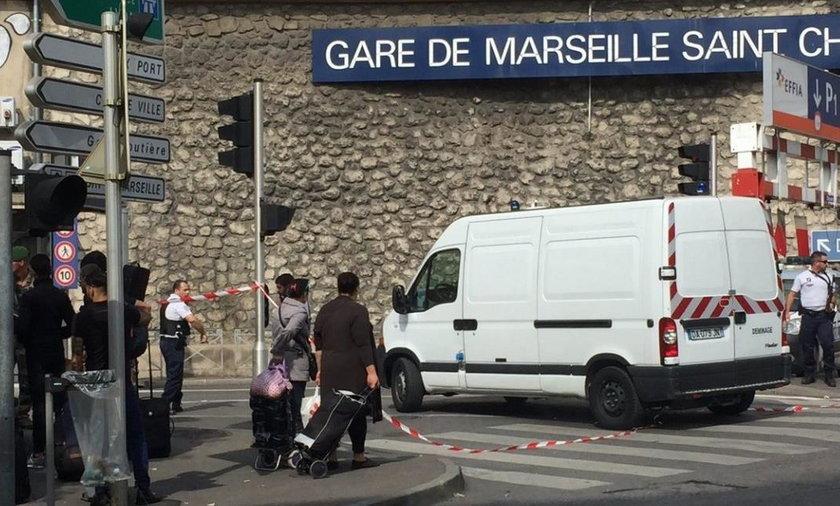 Nożownik w Marsylii