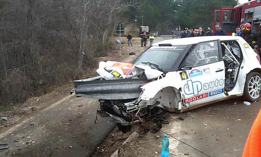 Robert Kubica wypadek