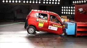 Nowe niebezpieczne auta - słabe wyniki crash testów