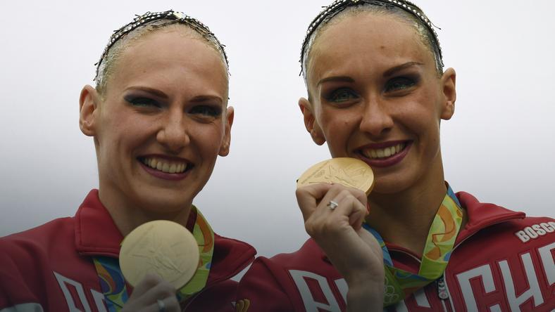 Natalia Iszczenko i Swietłana Romaszyna