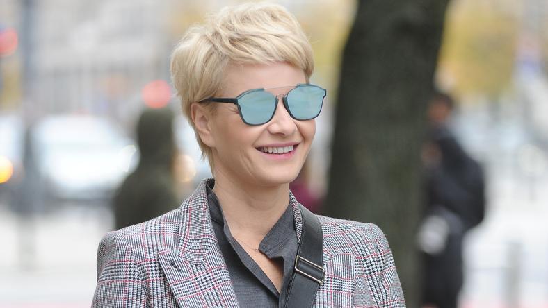 Małgorzata Kożuchowska Zmieniła Fryzurę Pokazała Zdjęcie Instagram