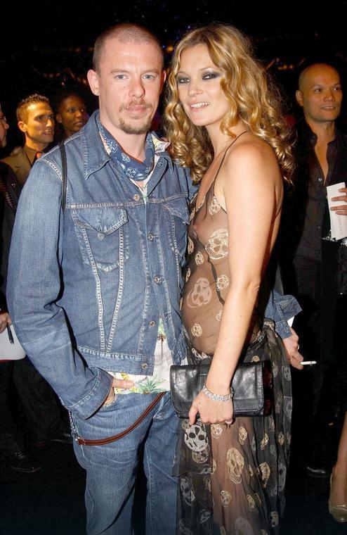 Alexander McQueen i Kate Moss