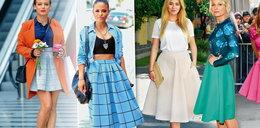 Z czym łączyć spódnicę w stylu retro