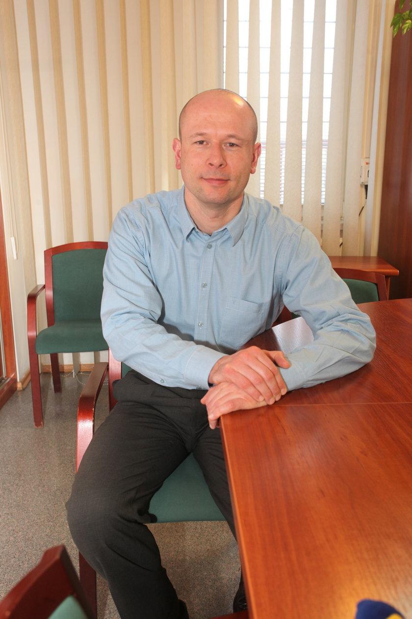 Wojciech Głuszczak, prezes Zakładu Utylizacji Odpadów w Szadółkach