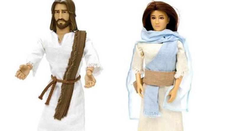 Jezus i Maria zamiast Barbie