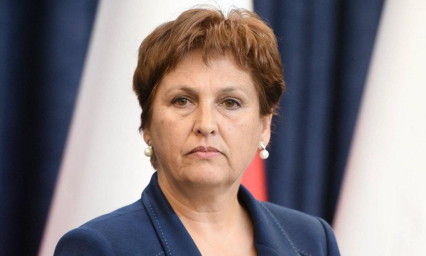 Halina Szymańska obecna szefowa ARiMR