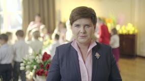 Premier Beata Szydło złożyła Polakom życzenia wielkanocne