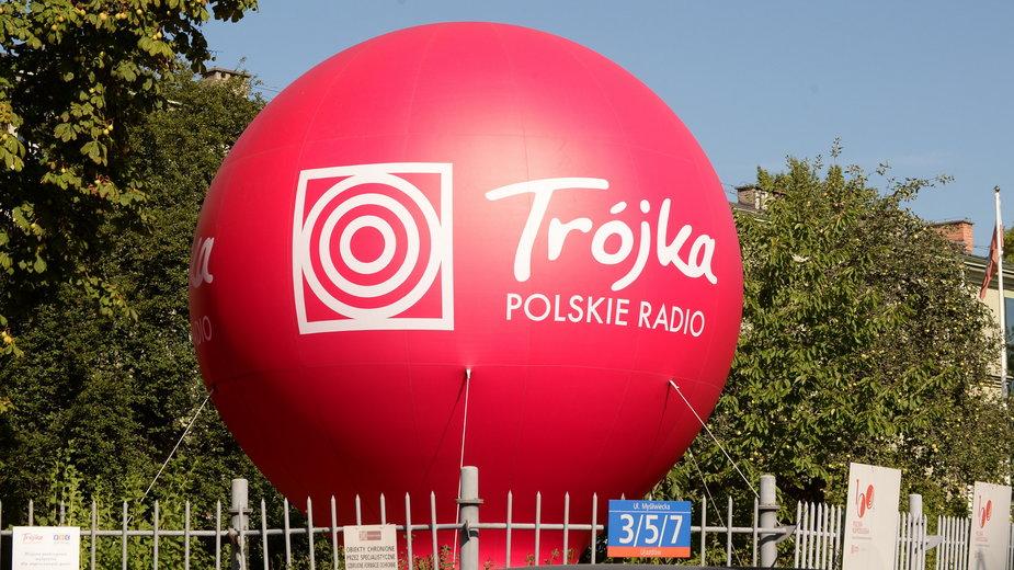 Siedziba radiowej Trojki - Programu III Polskiego Radia przy ul. Mysliwieckiej