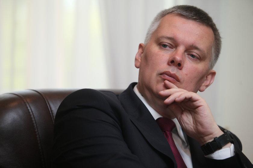 Tomasz Siemoniak zabrał głos ws. urodzin Roberta Mazurka