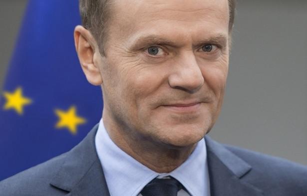 Donald Tusk, szef Rady Europejskiej. Bruksela, 2014
