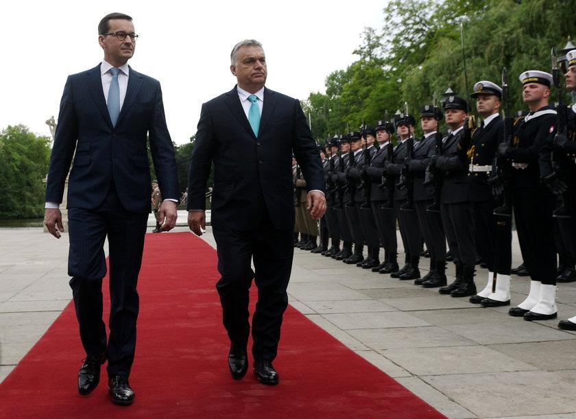 """Orban w Warszawie. Było o """"najważniejszej sprawie politycznej"""""""