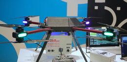 Dron zbada jakość powietrza