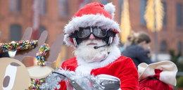 Święty Mikołaj na motorze? Parada Motomikołajów w Łodzi
