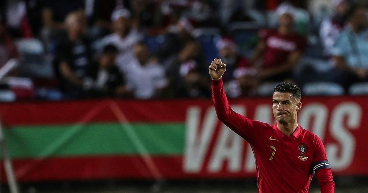 Ronaldo scores on European record 181st international appearance