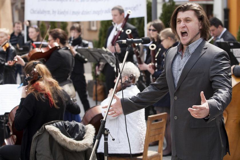 Artyści bronią Gliwickiego Teatru Muzycznego