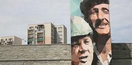 """Inż. Karwowski i Maliniak. """"Czterdziestolatek"""" na muralu"""