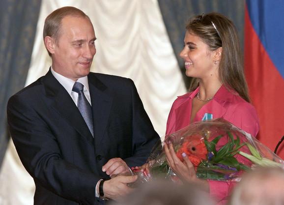 Putin i Kabajeva
