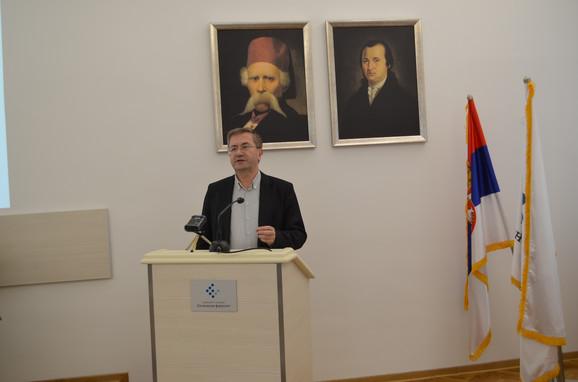 Prof. dr Milojko Arsić,  jedan od autora
