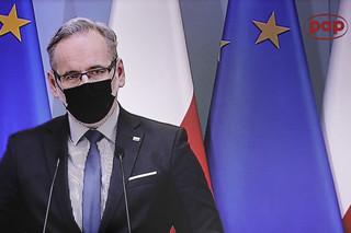 Rząd wprowadza pełnomocnika do szpitala na Solcu w Warszawie