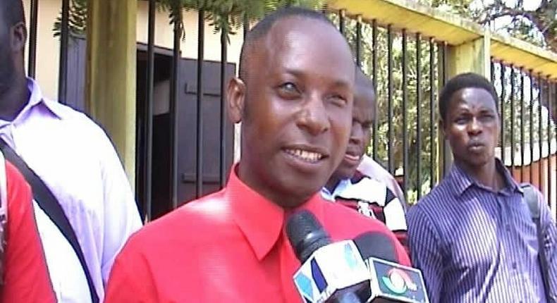 David Dotse Kofigah, leader of the group