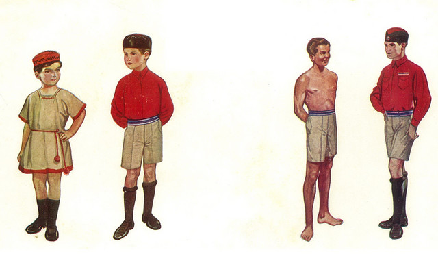 Naraštaj i deca sokoli, foto Muzej istorije Jugoslavije