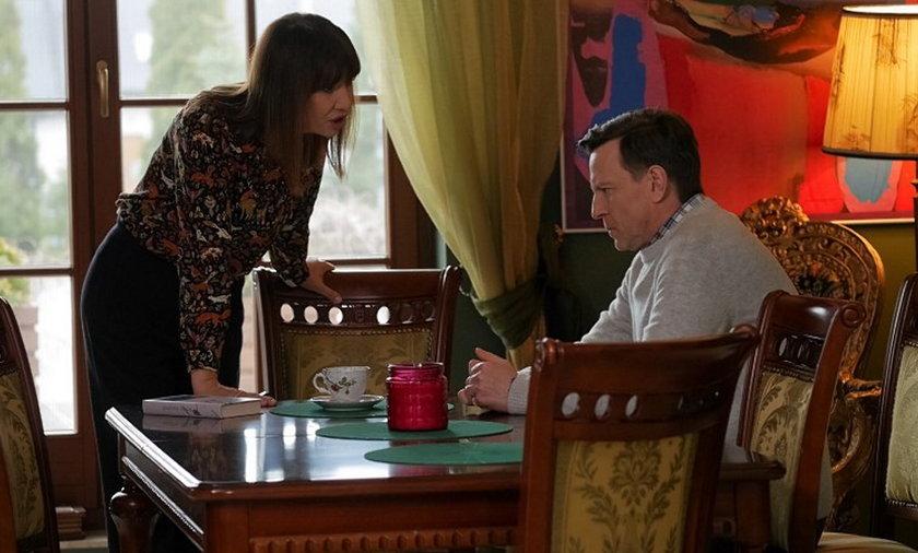 """""""Pierwsza miłość"""". Michał uświadomi sobie, że Grażyna jest zaborcza i zazdrosny. Postanowi się od niej wyprowadzić"""