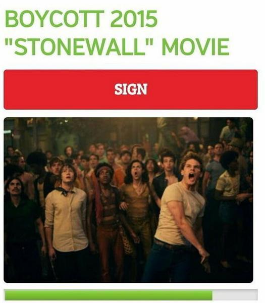 Czasy się zmieniły i dziś widzowie pragnący zbojkotować film mogą wspólnie podpisywać petycje w Internecie, fot. twitter.com