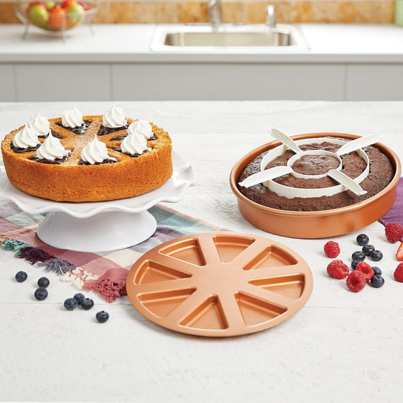 Copper chef set za torte