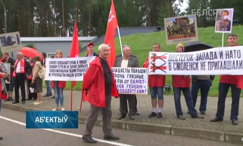 Skandal w Katyniu! Tak obrażali Polaków w miejscu kaźni