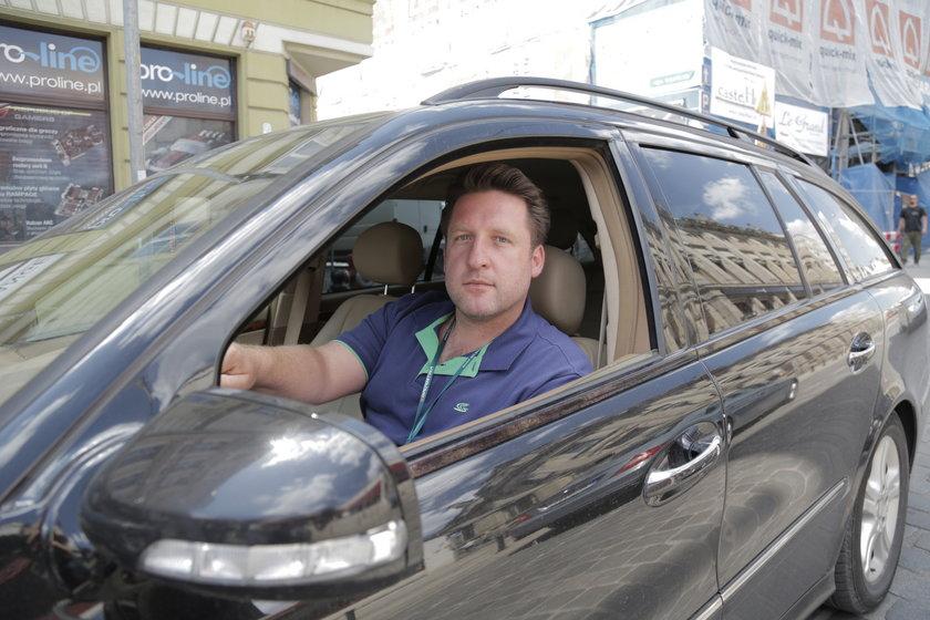 Rafał Szewczyk (37 l.), kierowca z Wrocławia