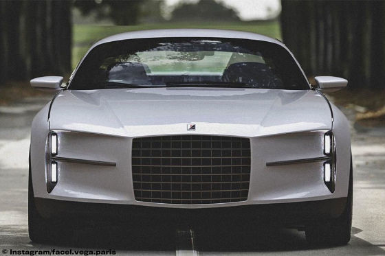 Facel Vega – concept car z V8