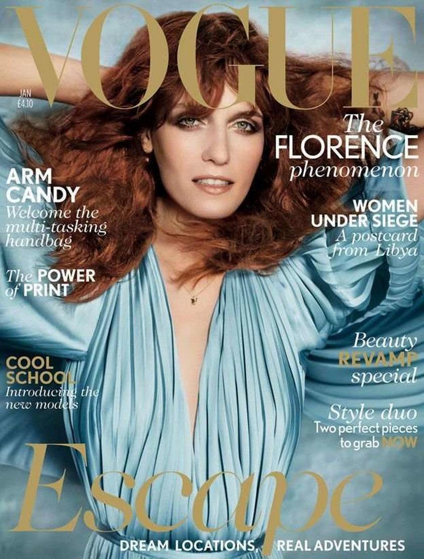 Florence Welch Vogue styczeń 2012