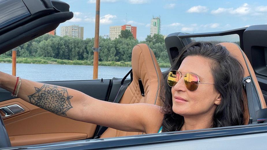 Dziennikarka motoryzacyjna Joanna Zientarska