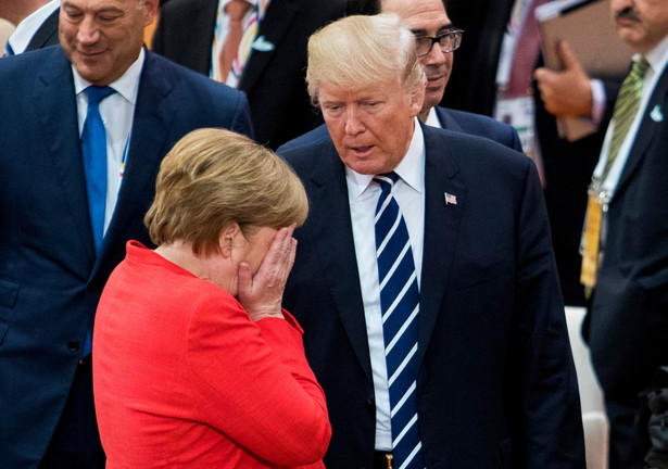 Angela Merkel przylatuje na dobę do USA