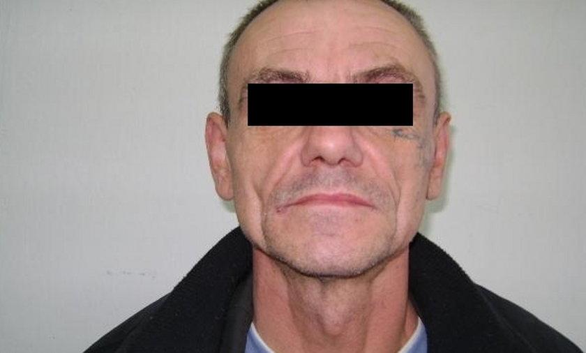 Policja ujęła 53-letniego Krzysztofa K.