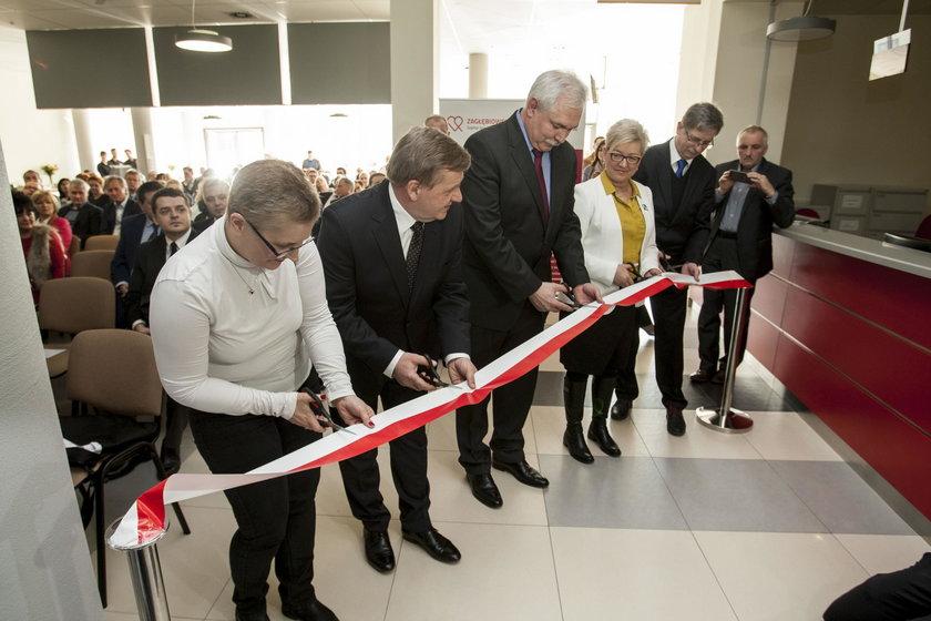 Uroczyste otwarcie ZCO w Dąbrowie Górniczej