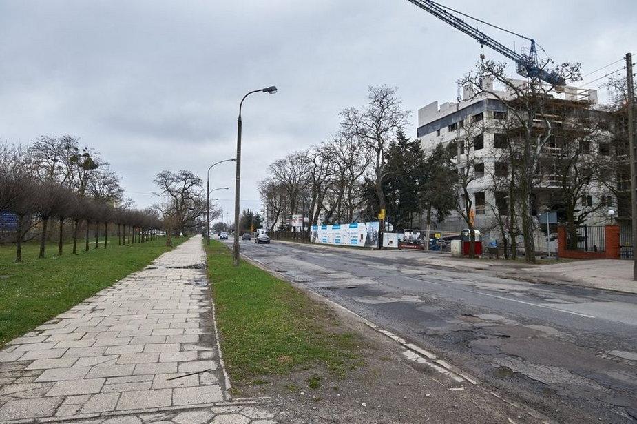 Remont ulicy Obywatelskiej w Łodzi