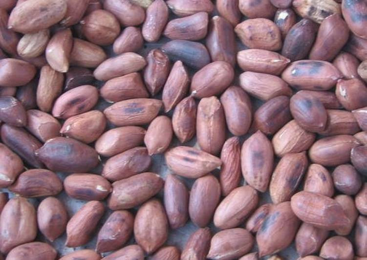Roasted groundnuts(cookpad)